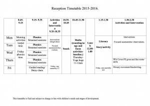 reception-timetable-2015-2016