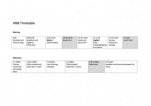 timetable-HNB